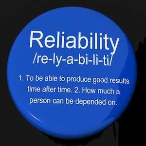 The Value Of Reliability