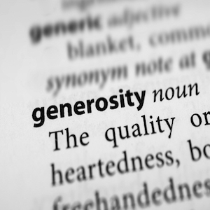Why Great Leaders Are Generous Leaders